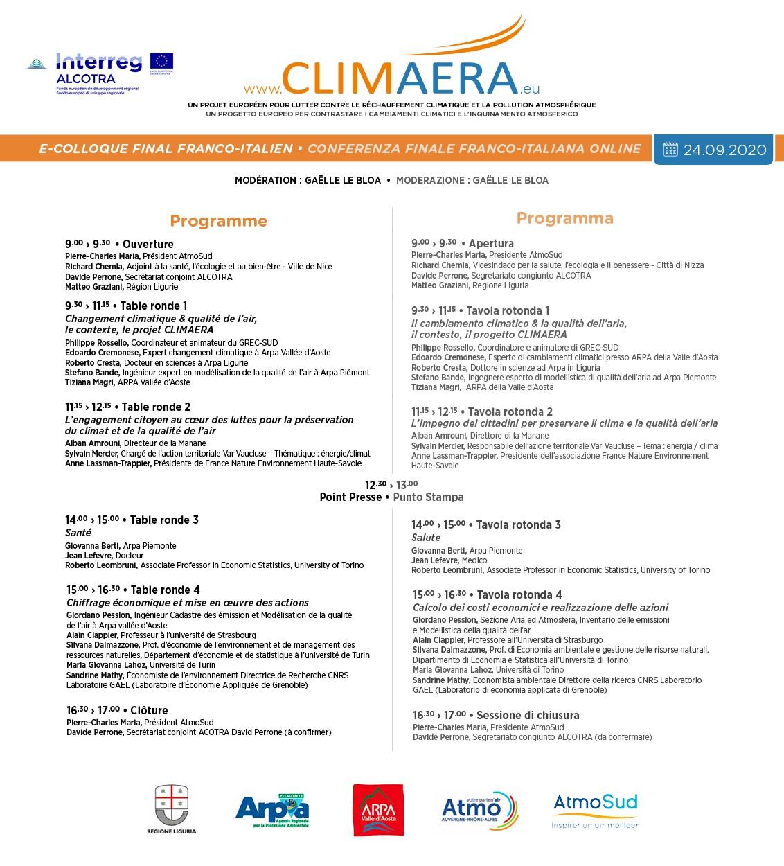 Programme e-colloque final CLIMAERA