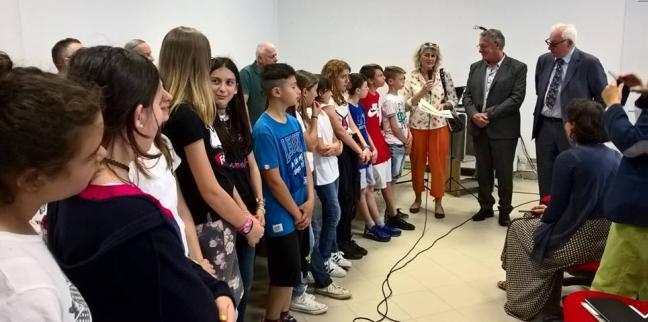 Proclamazione dei vincitori al concorso